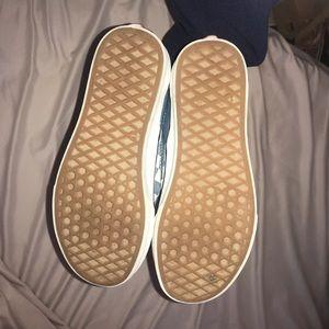 Vans Shoes - BLUE checkered vans